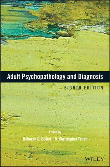 Adult Psychopathology and Diagnosis Cover Image