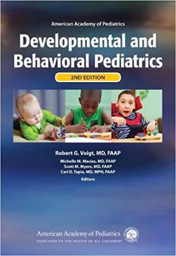 AAP Developmental and Behavioral Pediatrics Cover Image