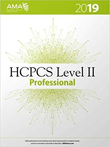 HCPCS 2019: Level II Professional Edition Cover Image