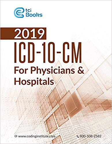 2019 ICD-10-CM for Physicians and Hospitals Cover Image