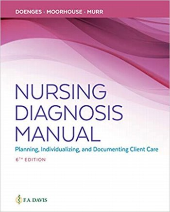 Nursing Diagnosis Manual: Planning, Individualizing and Documenting Client Care. Text with Access Code Cover Image