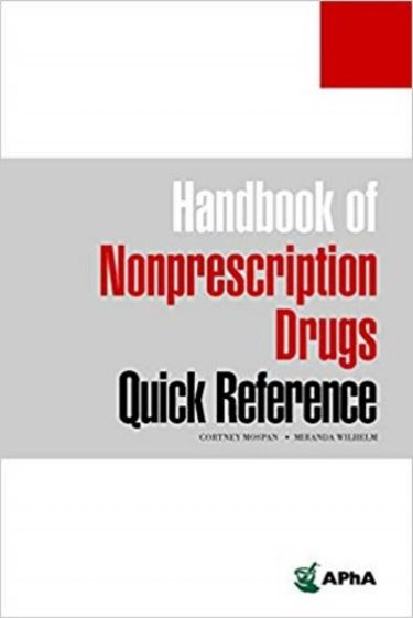 Handbook of Nonprescription Drugs Quick Reference Cover Image