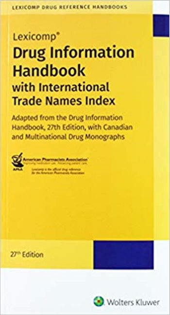 Drug Information Handbook: with International Trade Names Index Cover Image