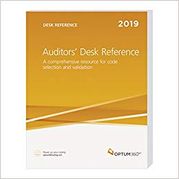 Auditors Desk Reference 2019: A Comprehensive Resource for Code Selection and Validation Cover Image