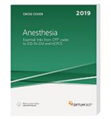 Anesthesia Cross Coder E-Book 2019 Cover Image