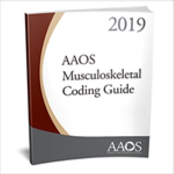 AAOS Musculoskeletal Coding Guide 2019 Cover Image