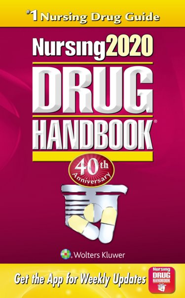 Nursing Drug Handbook 2020 Cover Image