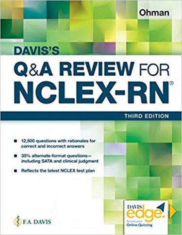 Daviss Q&A for the NCLEX-RN Examination. Text with Access Code Cover Image