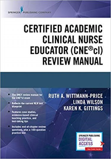 Certified Clinical Academic Nurse Educator Review Manual Cover Image