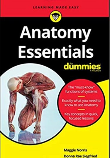 Anatomy Essentials For Dummies Cover Image