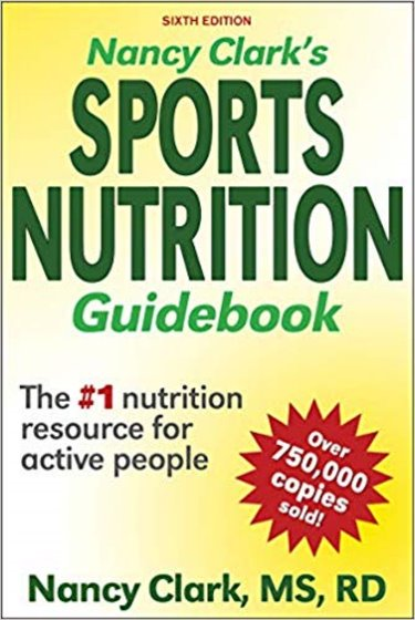 Nancy Clarks Sports Nutrition Guidebook Cover Image