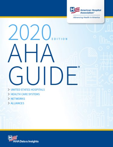AHA Guide to the Health Care Field 2020 Cover Image