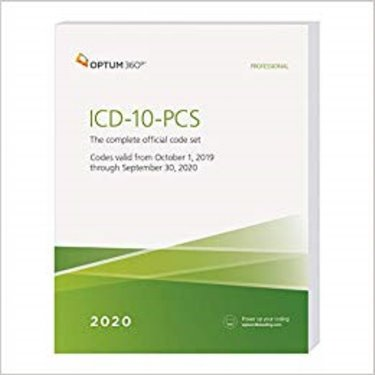 ICD-10-PCS Professional 2020: The Complete Official Code Set. Codes Valid October 1, 2019 through September 30, 2020 Cover Image