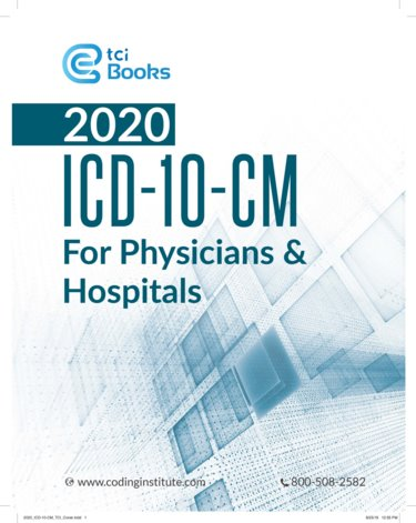 2020 ICD-10-CM for Physicians and Hospitals Cover Image