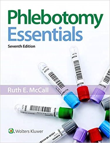 Phlebotomy Essentials Package. Includes Text and Student Workbook Cover Image