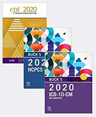 2020 ICD-10-CM Hospital Professional Edition. Includes HCPCS 2020 Professional Edition and CPT 2020 Professional Edition Cover Image