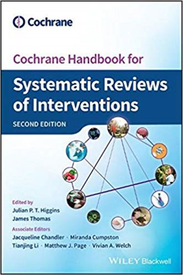 Cochrane Handbook for Systematic Reviews of Interventions Cover Image
