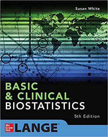Basic and Clinical Biostatistics Cover Image