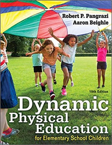 Dynamic Physical Education for Elementary School Children Cover Image