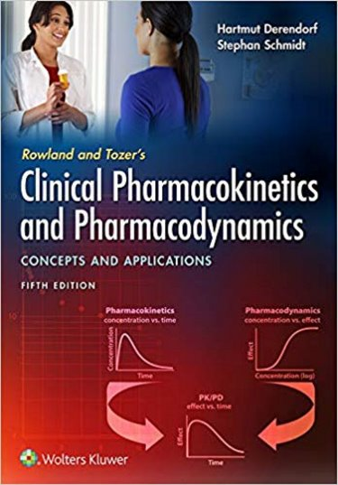 Rowland and Tozers Clinical Pharmacokinetics and Pharmacodynamics: Concepts and Applications. Text with Access Code Cover Image