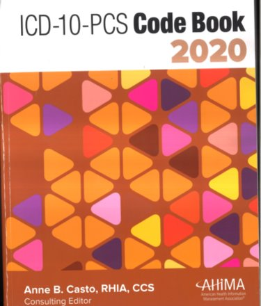 ICD-10-PCS Code Book 2020 Cover Image