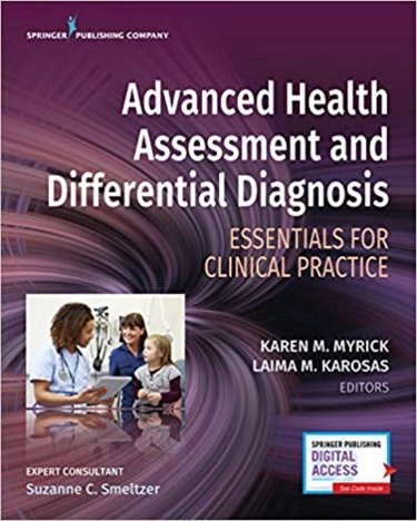 Advanced Health Assessment and Differential Diagnosis: Essentials for Clinical Practice. Text with Access Code Cover Image