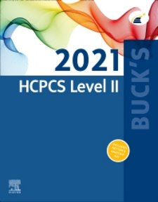 HCPCS 2021: Level II. Professional Edition Cover Image