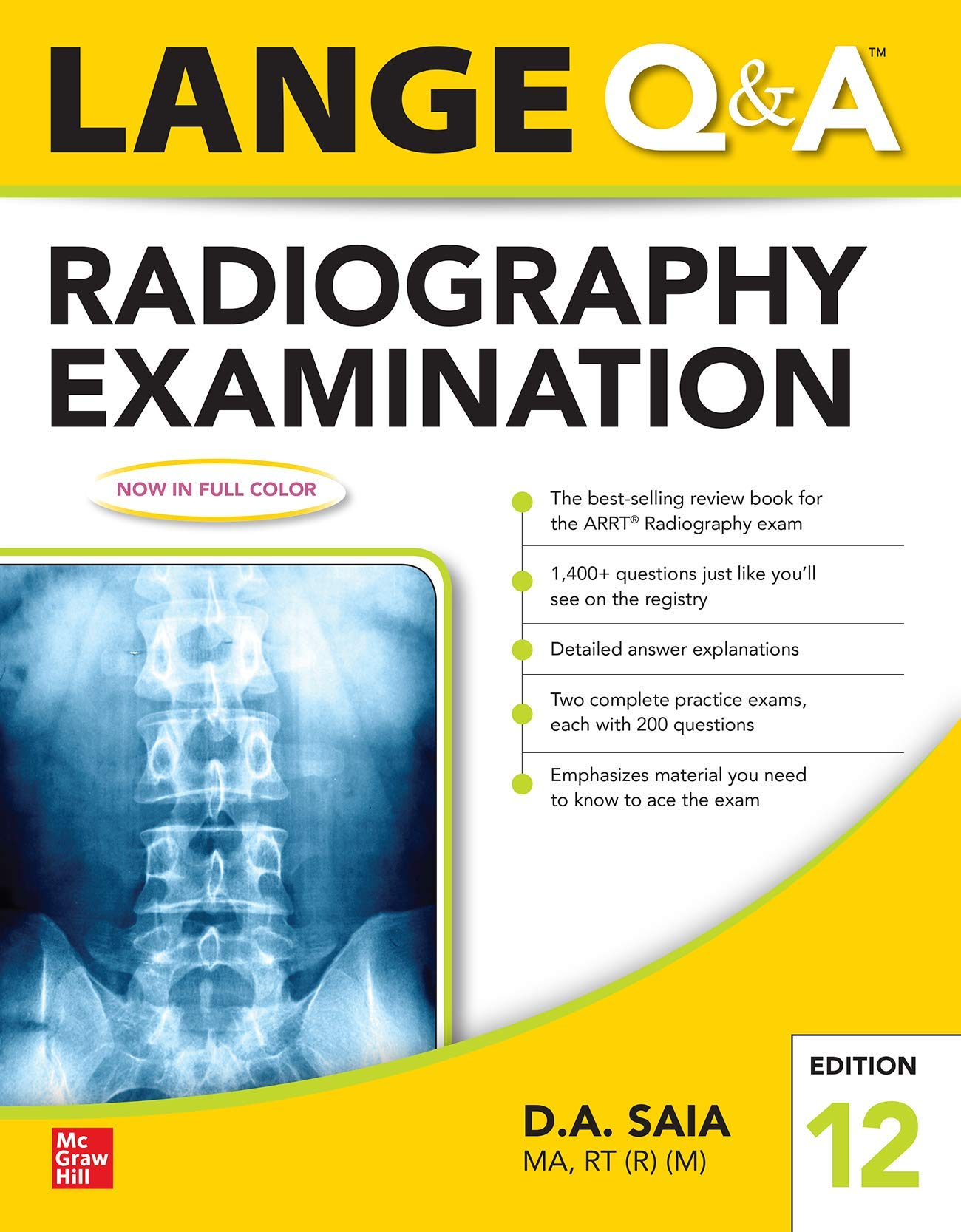 Lange Q&A for the Radiography Examination Cover Image