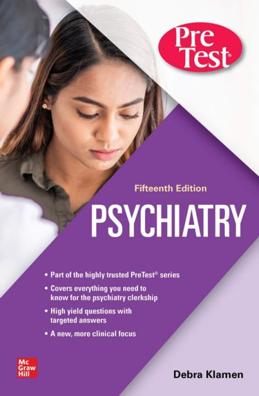 Psychiatry: Pretest Self-Assessment and Review Cover Image