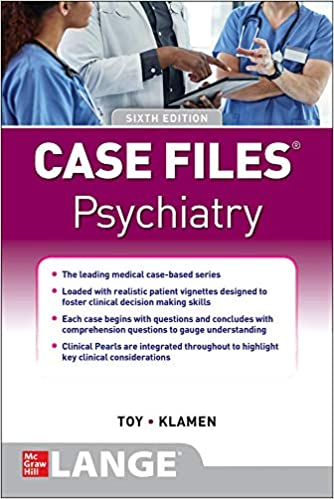 Case Files: Psychiatry Cover Image