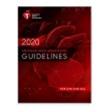 American Heart Association Guidelines for CPR and ECC Cover Image
