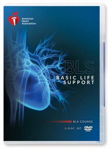 Basic Life Support (BLS): BLS Course on 2-Disc Set. DVD Video Cover Image