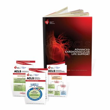 Advanced Cardiovascular Life Support (ACLS): Provider Manual Cover Image
