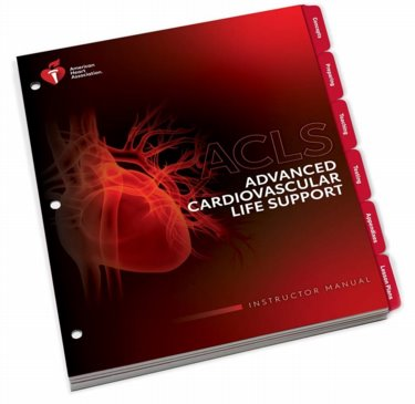 Advanced Cardiac Life Support Instructors Manual Cover Image