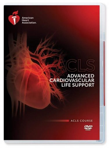 Advanced Cardiovascular Life Support (ACLS): ACLS Course, Update Course, ACLS on DVD Video Cover Image