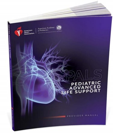 Pediatric Advanced Life Support (PALS): Provider Manual. Includes Quick Reference Card Cover Image