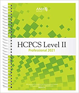 HCPCS 2021: Level II Professional Edition Cover Image