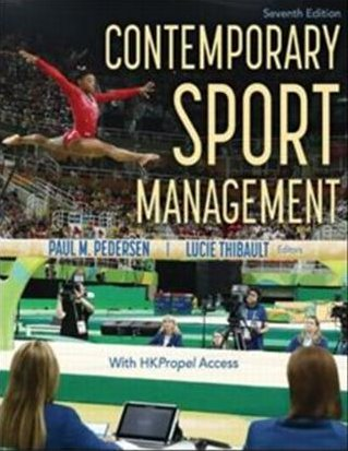 Contemporary Sport Management. Text with HKPropel Access Code (Looseleaf) Cover Image