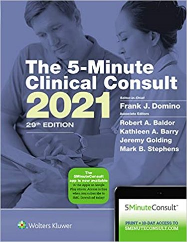 Five Minute Clinical Consult 2021. Text with Access Code for 10-Day Free Trial Cover Image