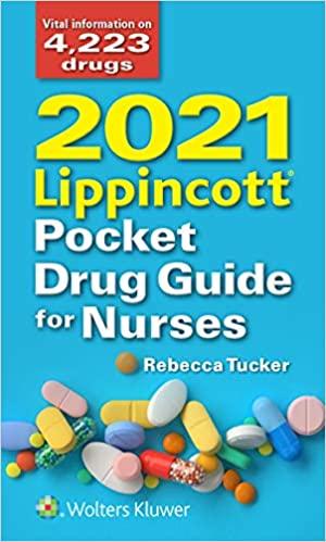 2020 Lippincott Pocket Drug Guide for Nurses Cover Image