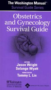 Washington Manual Obstetrics and Gynecology Survival Guide Image