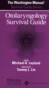 Washington Manual Otolaryngology Survival Guide Image