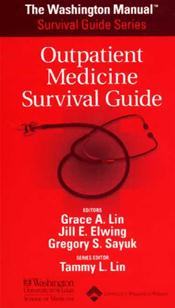 Washington Manual Outpatient Medicine Survival Guide Image