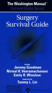 Washington Manual Surgery Survival Guide Image