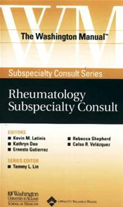 Washington Manual Rheumatology Subspecialty Consult Image