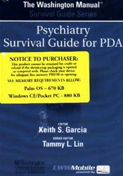 Washington Manual Psychiatry Survival Guide for PDA on CD-ROM for Palm OS, Windows CE and Pocket PC Image