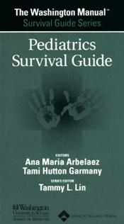 Washington Manual Pediatrics Survival Guide Image