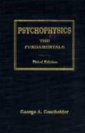 Psychophysics: The Fundamentals Cover Image