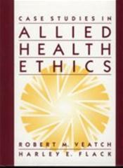 Case Studies in Allied Health Ethics Image