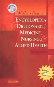 Miller-Keane Encyclopedia and Dictionary of Medicine, Nursing, and Allied Health. Text with mini CD-ROM for Macintosh and Windows Image